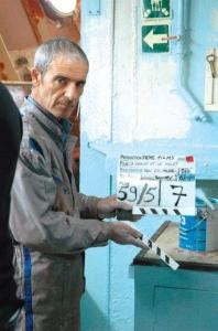 Habib Boufarès, protagonista de La graine et le mulet en el pápel de Slimane.
