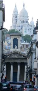 Iglesia de Notre Dame de Lorette con el Sagrado Corazón al fondo. Karsten Driever, 2006