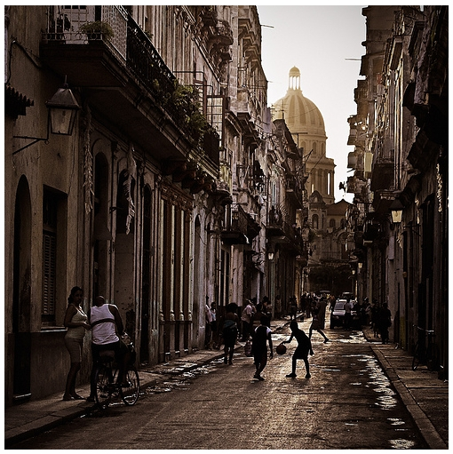 Calle Brasil Habana