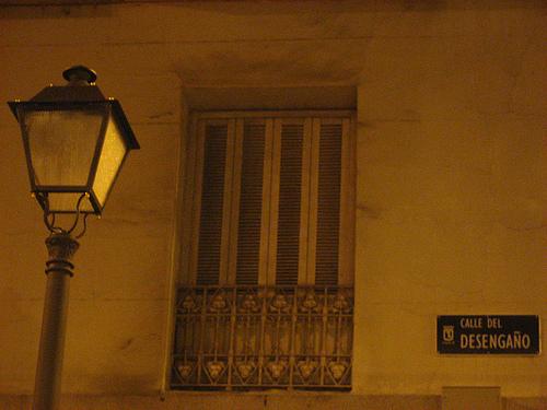 Calle del Desengaño Madrid