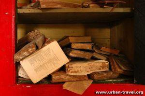Urban travel Books left aside