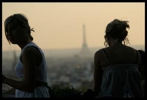 silhouette filles Paris
