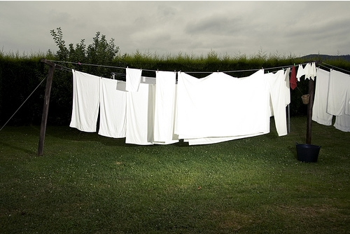Campo de ropa tendida