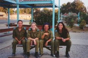 «Tsahal girls», foto de Robbie Stapleton, 5 de agosto de 2007.