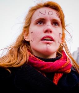 «Non au CPE, o la convicción de la belleza», foto de Manfred S. Rocker (ole...), 22 de marzo de 2006.
