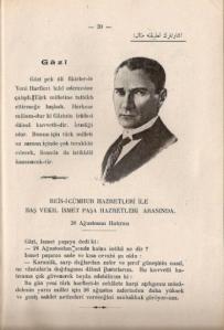 Ibrahîm Hilmi, Yeni Harflerle Resimli Türkçe Alfabe [«Alfabeto ilustrado del turco con los nuevos caracteres»], Estambul, Hilmi Kitaphânesi, 1928, pág. 20