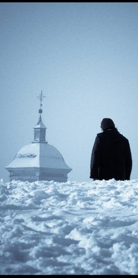 «El extranjero» (fragmento), foto de Una cierta mirada, 10 de enero de 2009.