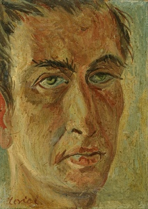 «Fabrizio Clerici, 'Autorittrato, 1945», foto de Aron Mendez, 19 de julio de 2009.