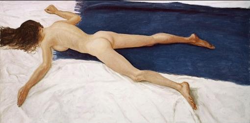 Avigdor Arikha, ¿«Fallen nude» (1986), colección privada?